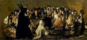 Goya Der Große Ziegenboch schürt (Klima-) Ängste